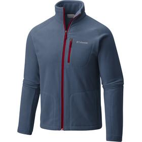 Columbia M's Fast Trek II Full Zip Fleece Jacket Dark Mountain/Red Element